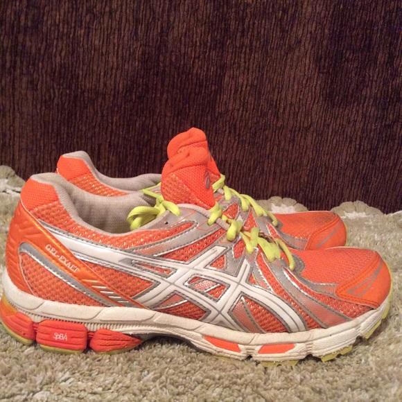 Aasics Shoes - Aasics Women's Gel Exalt Orange Yellow Sz 9